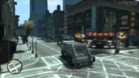 GTA IV Mission Taking in the Trash