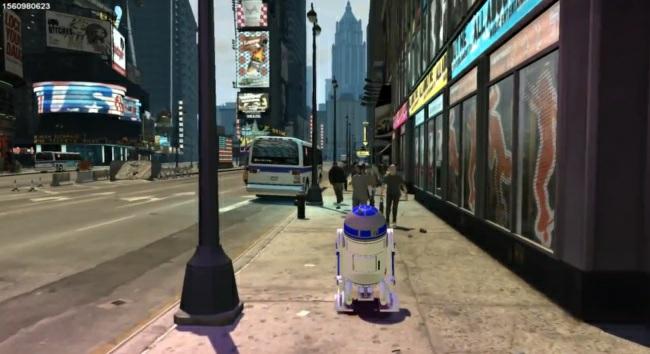 Noticia Destruyendo Liberty City con R2-D2