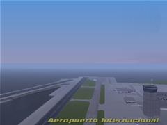 Llegando al aeropuerto de liberty
