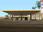 Playa de combustible-gasolinera de Idlewood