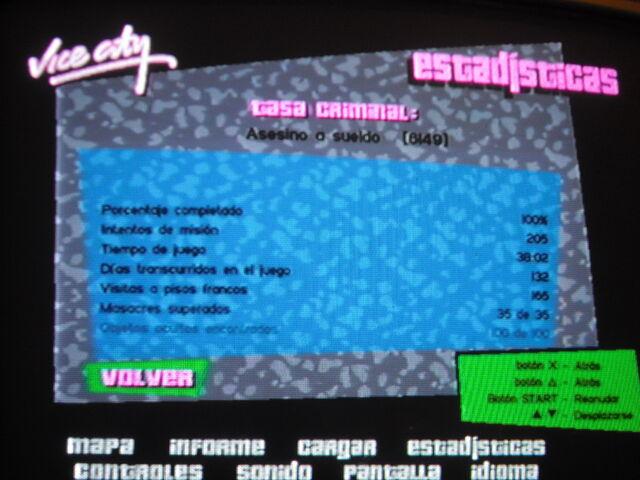 Archivo:GTA VC (Ps2) 100%.JPG
