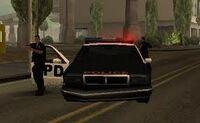 Policia de los santos