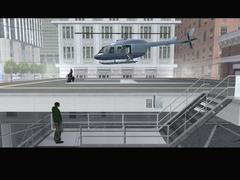 El helicoptero de Toreno despegando