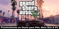 Tráiler de Grand Theft Auto V (PS4, Xbox One & PC)