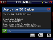 Badger cw