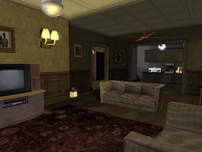 Interior de la Casa de Sweet 1