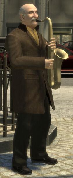 Street musician (GTA4)
