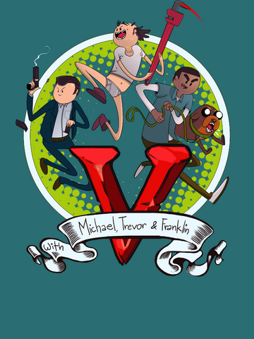 Archivo:GTA V Fan Art - Adventure Time.png