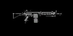 Ametralladora de asalto GTA V HUD