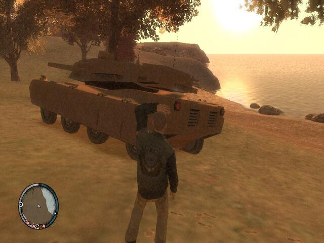 Archivo:GTA 4 TLAD Beta Rhino (2).jpg