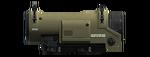 Mira telescopica ametralladora de combate