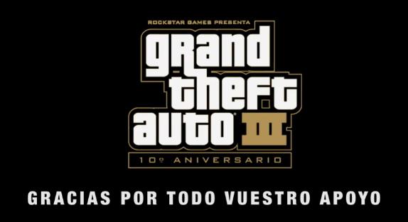 Archivo:GTA III Aniversario Gracias.png