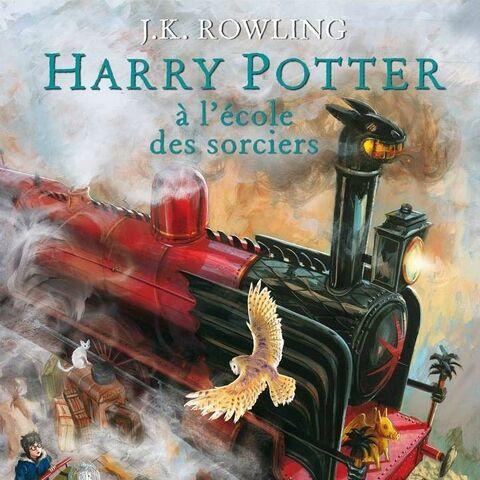 <i>Harry Potter a l'école des Sorciers</i> (Illustré)