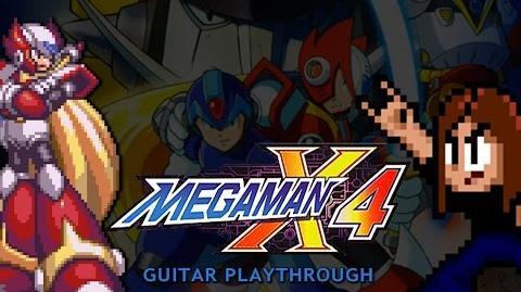 Mega Man X4 Guitar Playthrough (Zero version) COMPLETE