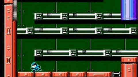 Mega Man 6 - Yamato Man Stage Impregnable Fortress