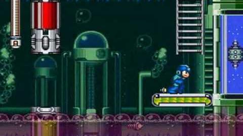 Mega Man 7 - Burst Man Stage Medical Science Laboratory