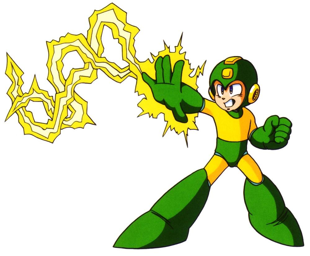 Electric shock mega man hq fandom powered by wikia - Megaman wikia ...