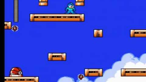 Mega Man 4 - Dr. Cossack's Fortress Stage 3