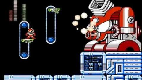 Mega Man 4 Part 14 Wily Stage 2 Tako Trash Boss