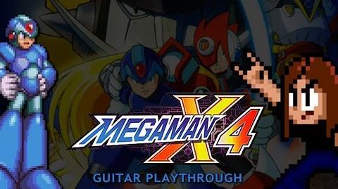 Mega Man X4 Guitar Playthrough (X version) COMPLETE