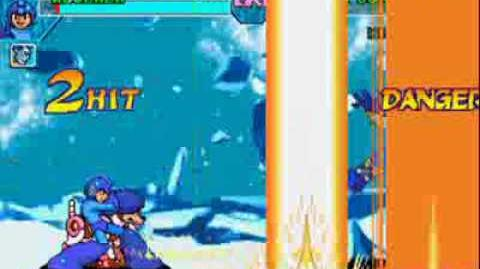 Marvel vs Capcom - MegaMan Magnetic Shockwave