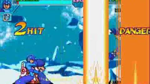 Marvel vs Capcom - MegaMan Magnetic Shockwave