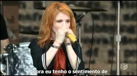 Paramore - Where the Lines Overlap Summer Sonic 2009 Legendado HD