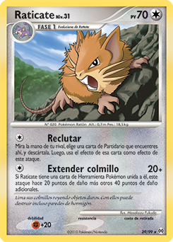 Carta de Raticate
