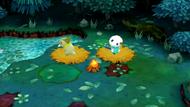 Bosque Mantoscuro (Hoguera que monta el equipo)