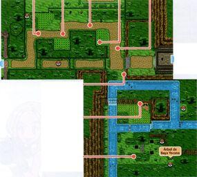 Mapa de la ruta 22