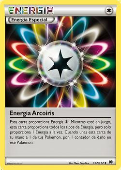 Carta Energía arcoíris