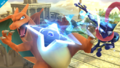 Greninja usando shuriken de agua SSB Wii U.png