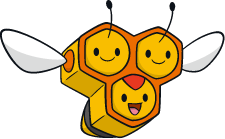 Archivo:Combee (dream world).png