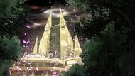 P10 Torres del Espacio y Tiempo iluminándose (2)