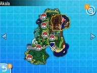 Localización de la ruta 7 en Alola