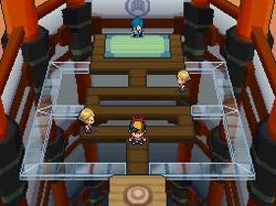 Interior del Gimnasio de Malva en los videojuegos