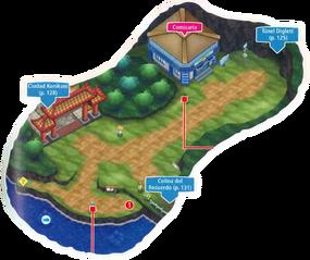 Mapa de la ruta 9