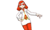 Comandante del Team Flare (mujer)