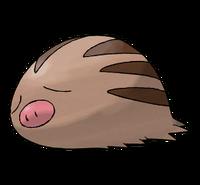 Ilustración de Swinub