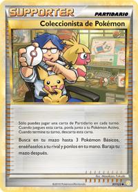 Carta Coleccionista de Pokémon