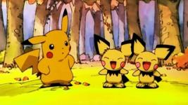 Archivo:Pikachu y los hermanos Pichu.png