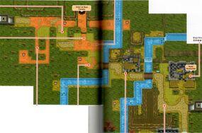 Mapa de la ruta 15