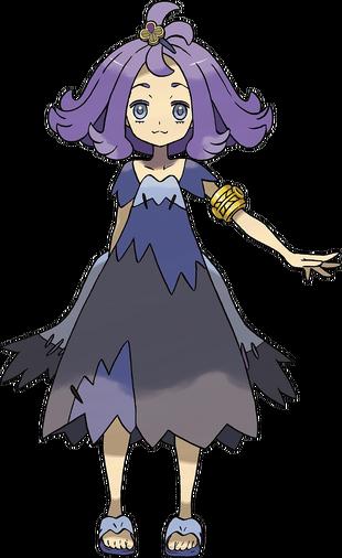 "Zarala en <a href=""/wiki/Pok%C3%A9mon_Sol_y_Pok%C3%A9mon_Luna"" title=""Pokémon Sol y Pokémon Luna"">Pokémon Sol y Pokémon Luna</a>"