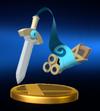 Trofeo de Honedge SSB4 Wii U.png