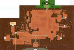 Mapa de la ruta 13