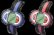 Poké-reloj Platino