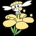 Flabébé amarilla (dream world).png