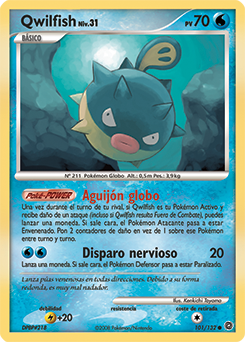 Carta de Qwilfish