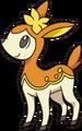Deerling otoño (anime NB).png