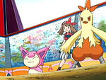 EP400 Skitty y Combusken de May.jpg